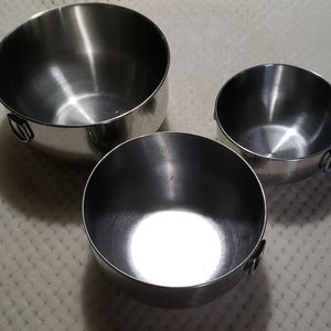Farberware stainless steel bowl set